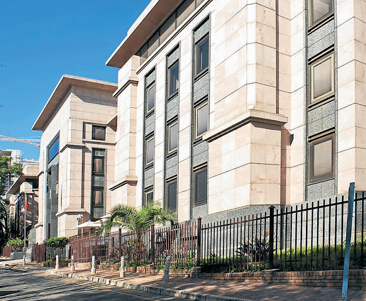Redefine Properties' head office in Rosebank, Johannesburg. Picture: SUPPLIED