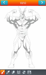 How To Draw Heroo Academyia - náhled