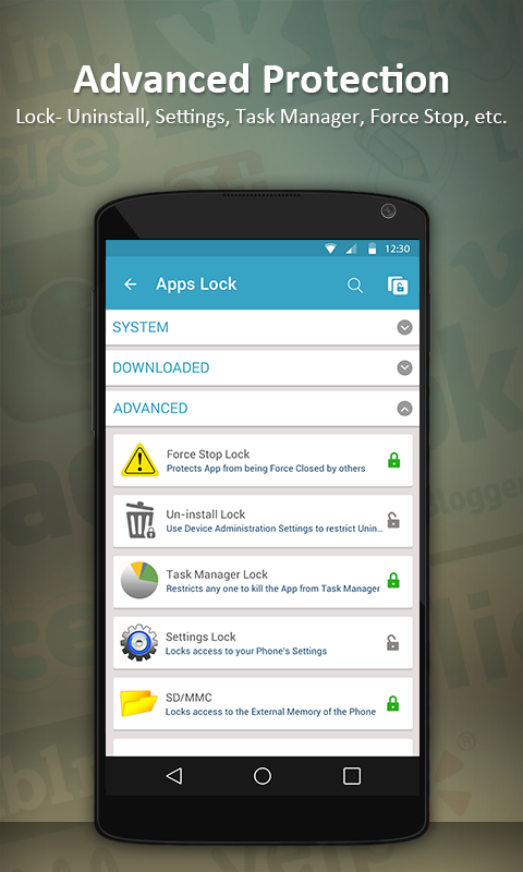 Apps Lock & Gallery Hider - screenshot