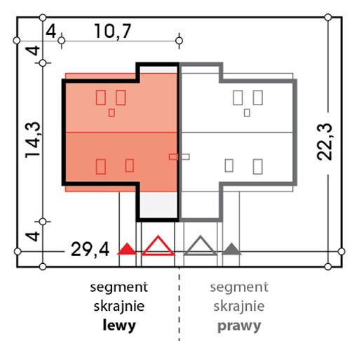 Vivien bliźniak segment A - Sytuacja