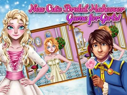 Tải Game Ice Princess Bridal Makeover