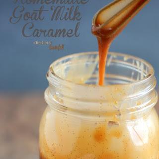 Goat Milk Caramel Recipe