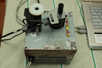 Photo: Soundstepper conectado ao computador e motores Soundstepper finalizado!