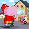 Fireman for kids icon