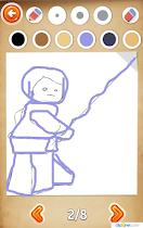 Draw star heroes on the phone - screenshot thumbnail 03