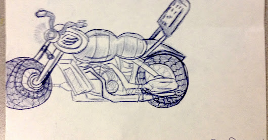 2MP: Motorcycle art