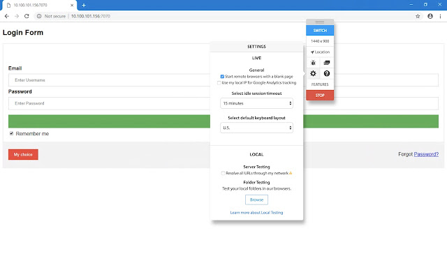 BrowserStack Local - Chrome Web Store