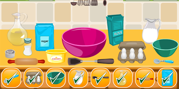 Cake Girls Games Cooking Games - náhled