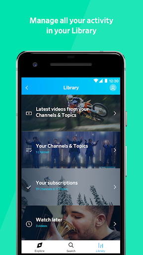 Dailymotion: Explore and watch videos 1.31.29 screenshots 4
