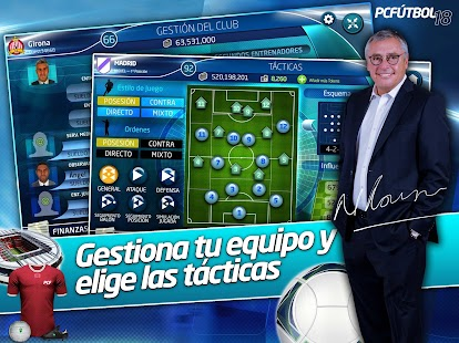 PC Fútbol 18 Screenshot