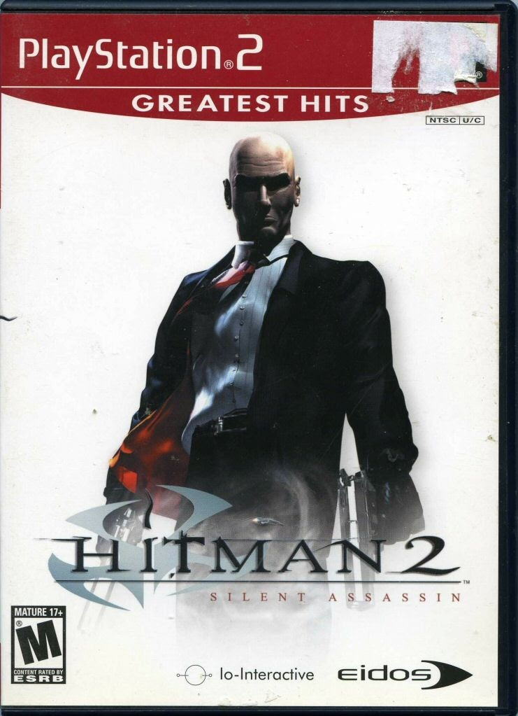 Video Game Sony Playstation 2 Greatest Hits Hitman 2 Silent