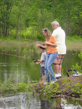 Photo: Fishing from shore at Waterbury Center State Park
