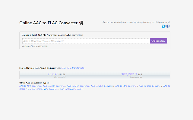 AAC to FLAC Converter