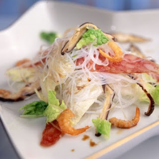 Traditional Chinese Cabbage (wong bok) with Smoked Chinese Sausage