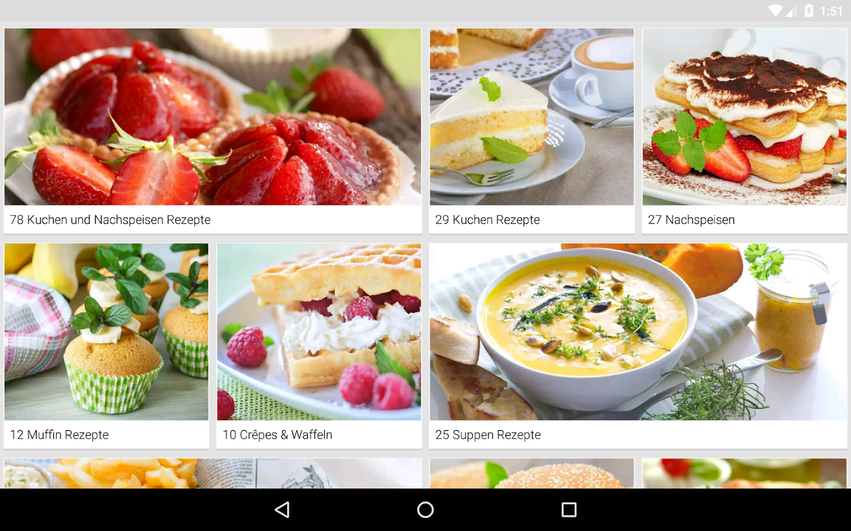 rezepte kochbuch zum kochen android apps on google play. Black Bedroom Furniture Sets. Home Design Ideas
