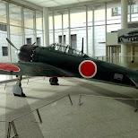 mitsubishi airplane at the Tokyo War Museum - Yushukan in Chiyoda, Tokyo, Japan