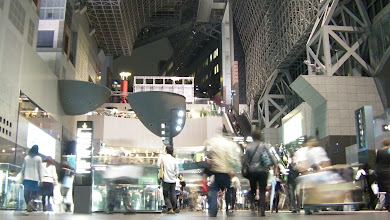 Photo: Time pass in Kyoto station