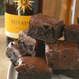 Pinot Noir Brownies