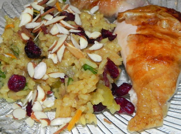 Orange And Cranberry Rice Pilaf Recipe