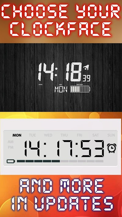 Battery Saving Digital Clocks Live Wallpaper APK Download