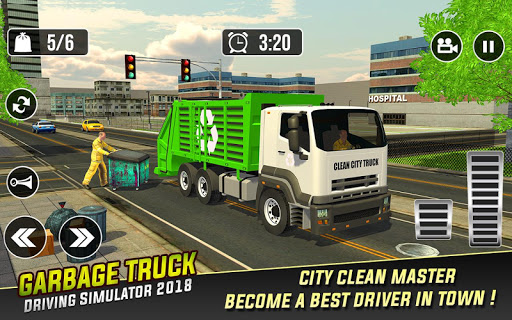 Garbage Truck: Trash Cleaner Driving Game 1.0.2 screenshots 1