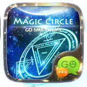 GO SMS PRO MAGIC CIRCLE THEME