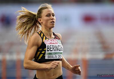 Eline Berings heeft veel zin in het nieuwe atletiekseizoen