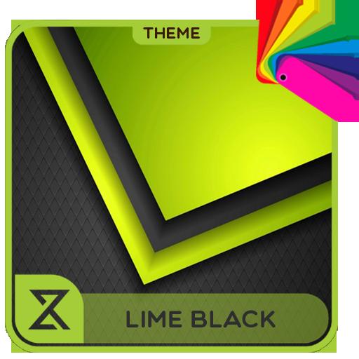 Theme XPERIEN™ - Lime black