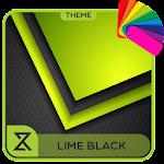 Theme XPERIEN™ - Lime black Icon
