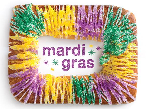 Name only Mardi Gras tumbler