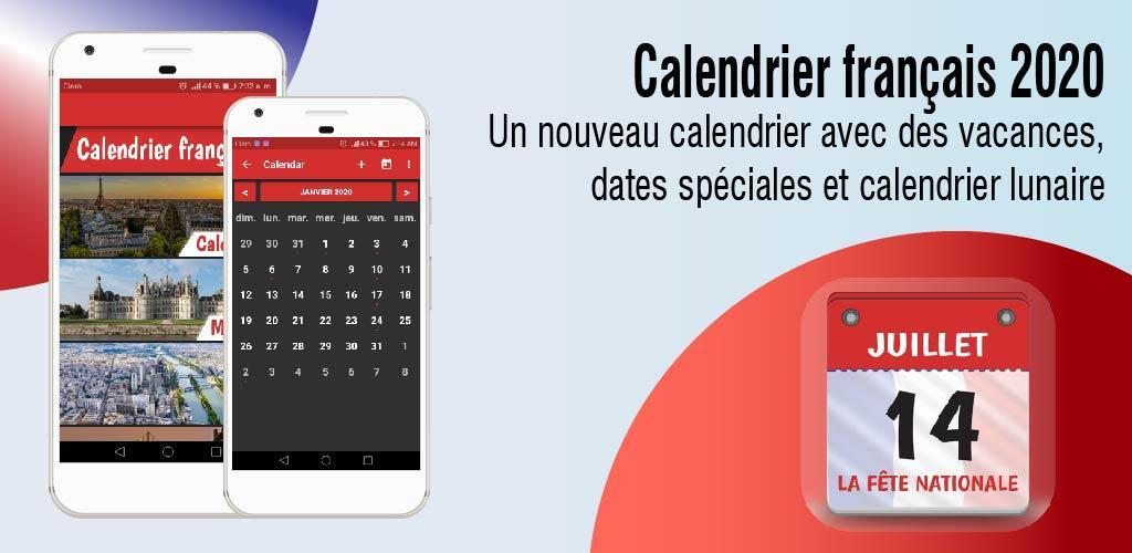 Download Calendrier 2020 Français Avec Jours Fériés 2020 Apk