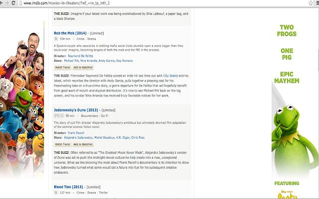 IMDB ERASER
