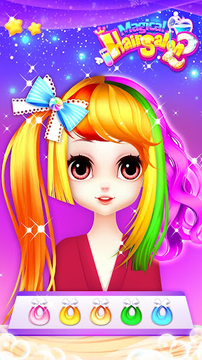 Princess Fashion Makeover: Hair Salon & Dress up 1.11 gameplay | by HackJr.Pw 5