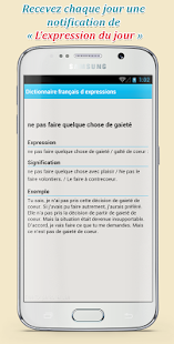french phrases dictionnary- screenshot thumbnail