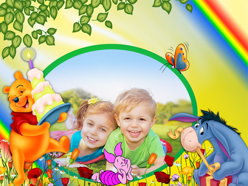 Cartoon Photo Frames For Kids