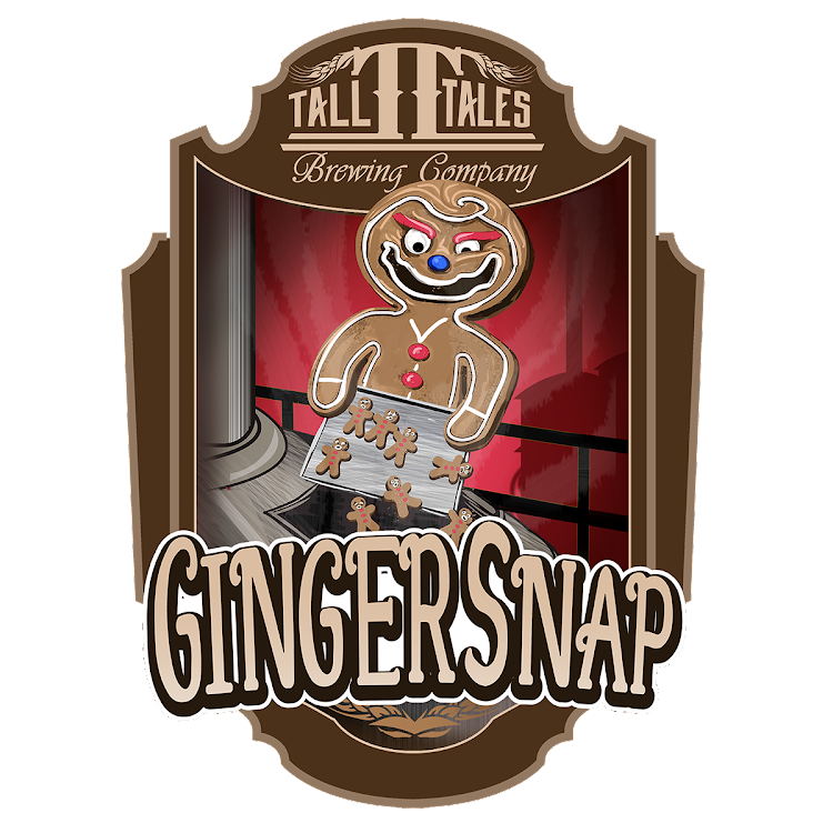 Logo of Tall Tales Gingersnap Stout