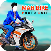 Man Bike Rider Photo Editor