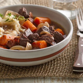 Slow-Cooker Beef Bourguignon.