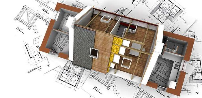 a drawing of plans for a loft conversion