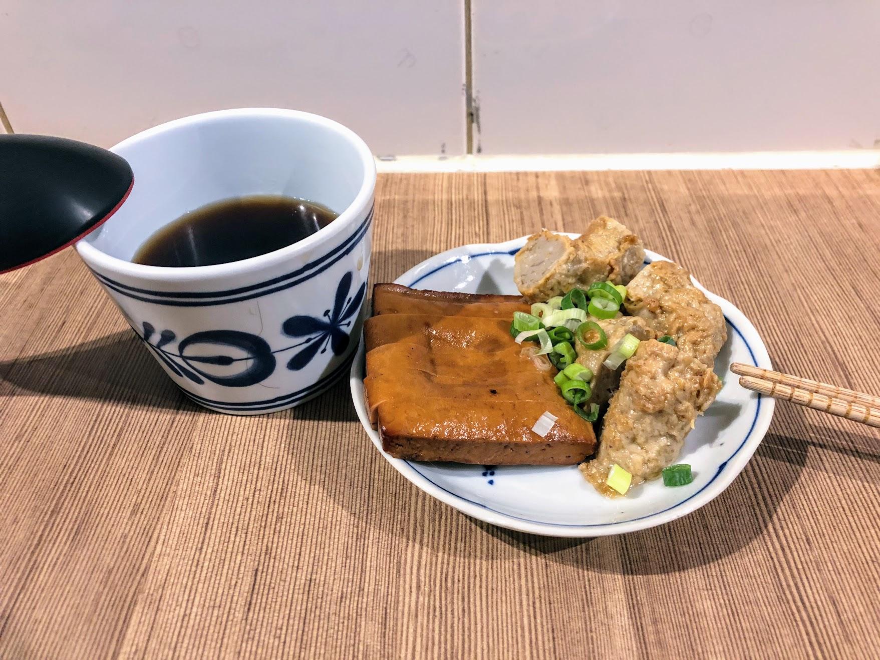 紅茶和小菜