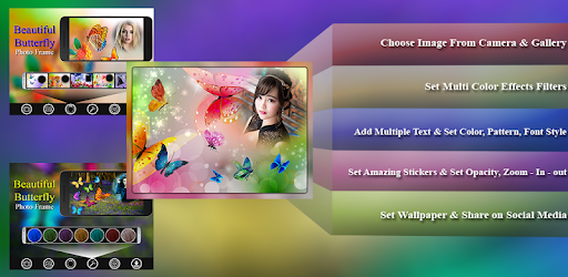 Приложения в Google Play – Beautiful Butterfly Photo Frames