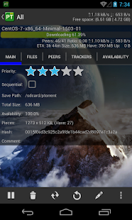 PTorrent Pro - Torrent Client Screenshot