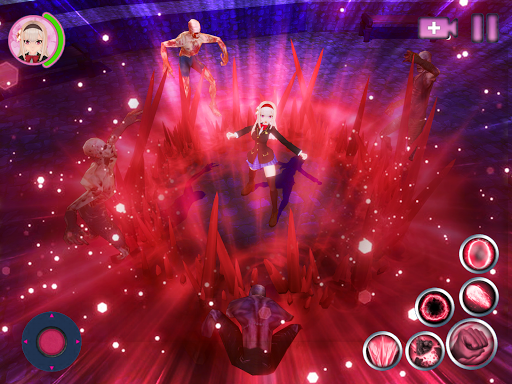 Kawaii Legend: Conquest of Magic RPG Anime Games 1.0.4 screenshots 9