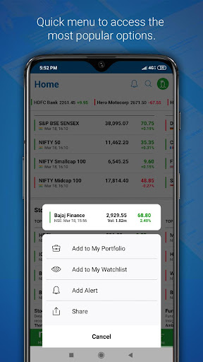 Moneycontrol Markets on Mobile screenshot 4