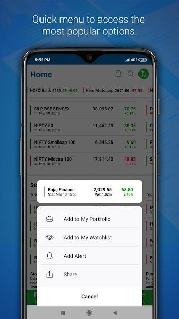 Moneycontrol – Stocks, Sensex, Mutual Funds, IPO