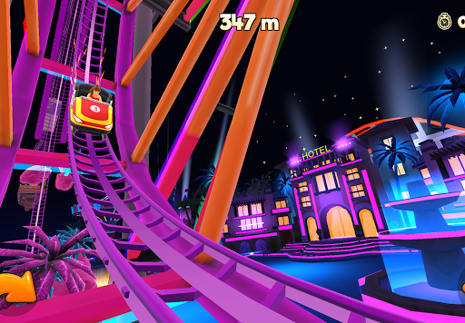 Thrill Rush Theme Park apkslow screenshots 4