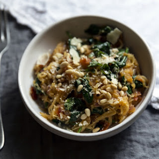Savory Spaghetti Squash Recipe from our guest Blogger, Jamie Barker of Wallace & James.