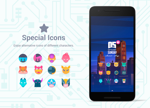 Bixpic Icons (6 Icon Packs included)  screenshots 9