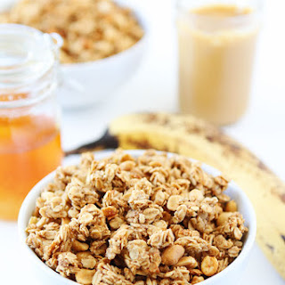 Peanut Butter, Banana, and Honey Granola Recipe