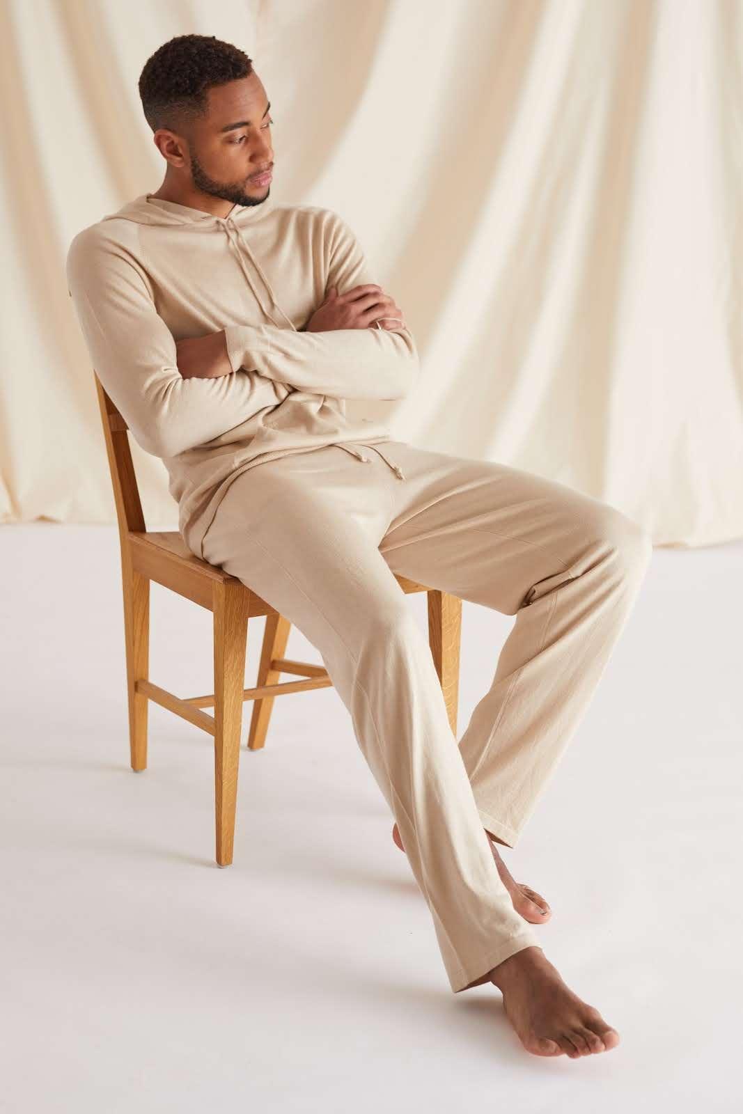 Man Fine Knit Pants
